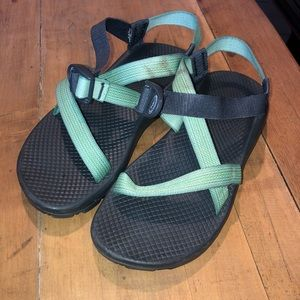 Light Green Chaco Sandals